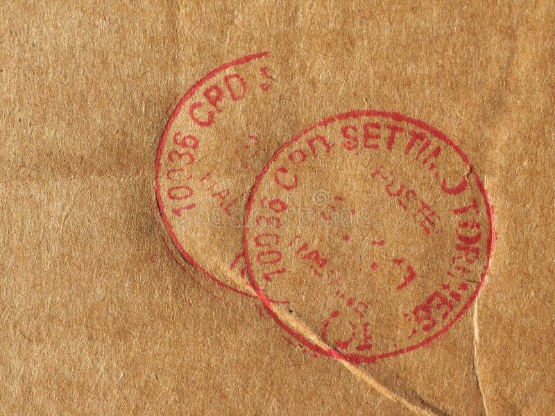 poczty opłaty pocztowej metr zdjęcie stock