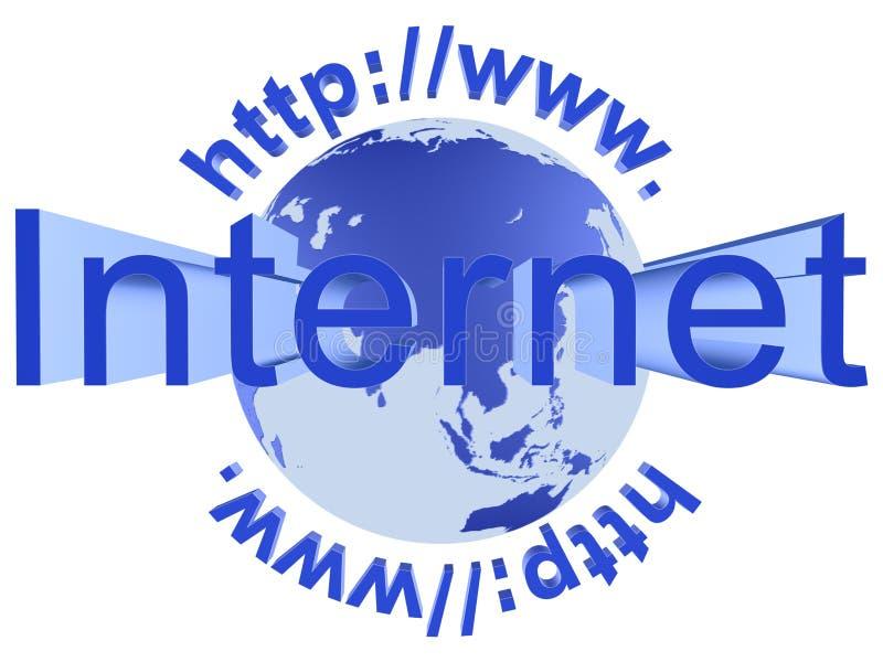 podłączeniowi internety zdjęcie stock