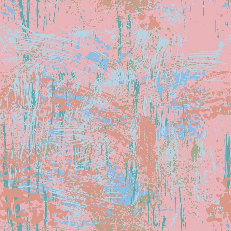 Podława bezszwowa tekstura w pastelowych brzmieniach ilustracji