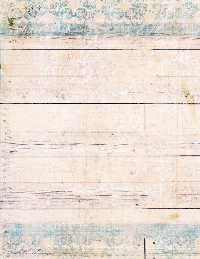 Podławy Modny Drewniany Tło obraz stock