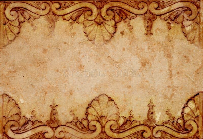 podławy tło rocznik ilustracja wektor