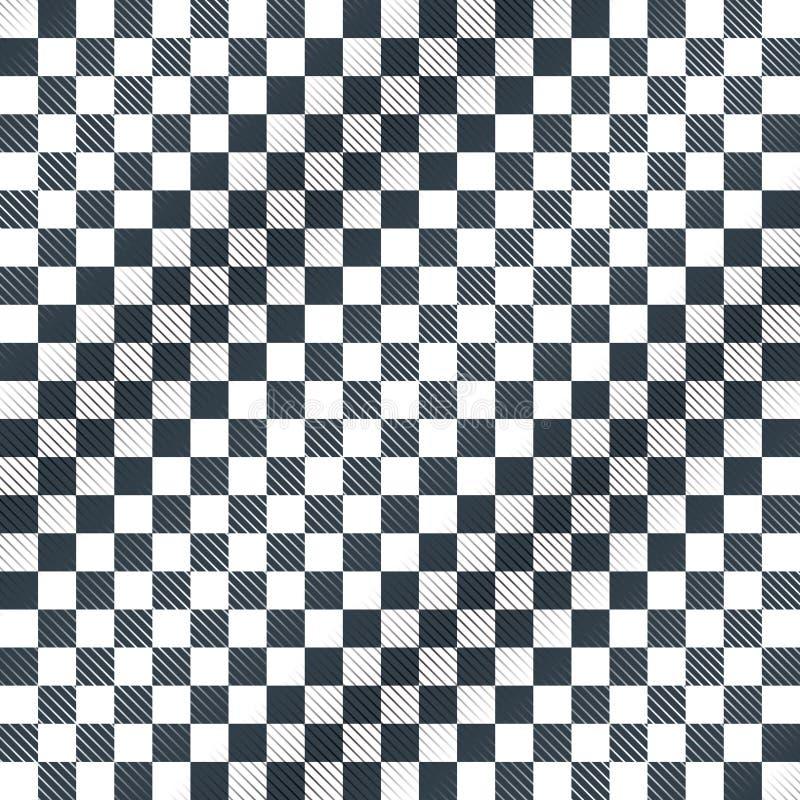 Podłoga, szachownicy lub kona bieżnego samochodu flaga wektor, ilustracja wektor