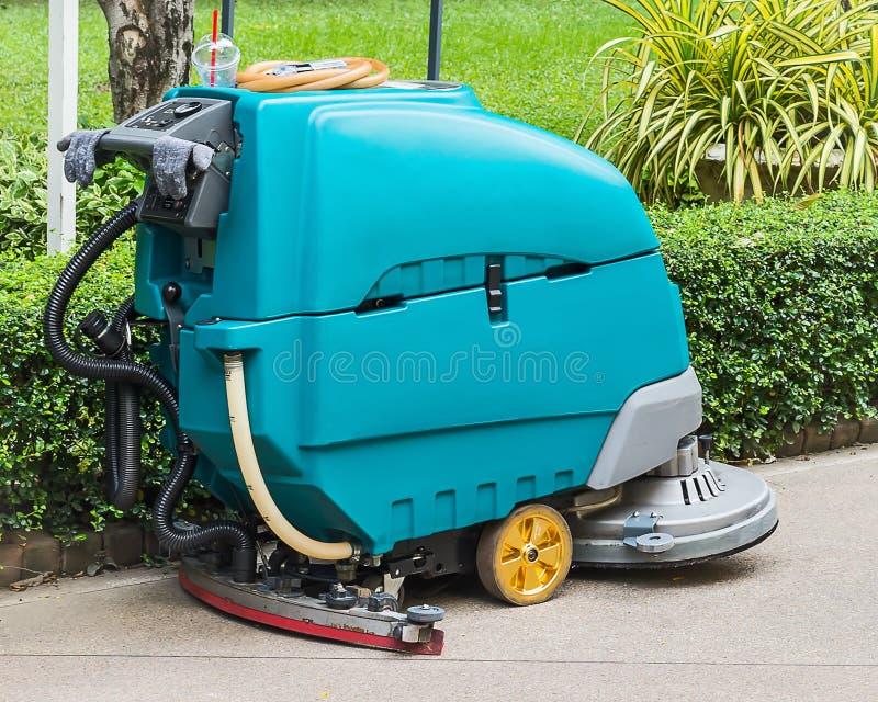 Podłogowa cleaning maszyna obrazy royalty free