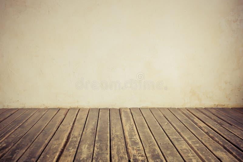 podłogowa stara ściana obraz stock