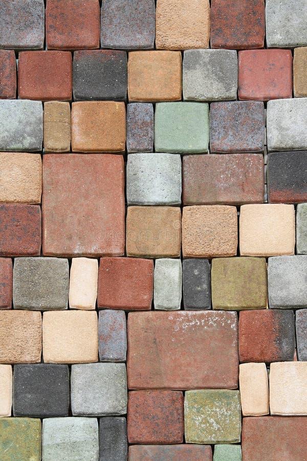 Podłogowe cegły zdjęcia stock