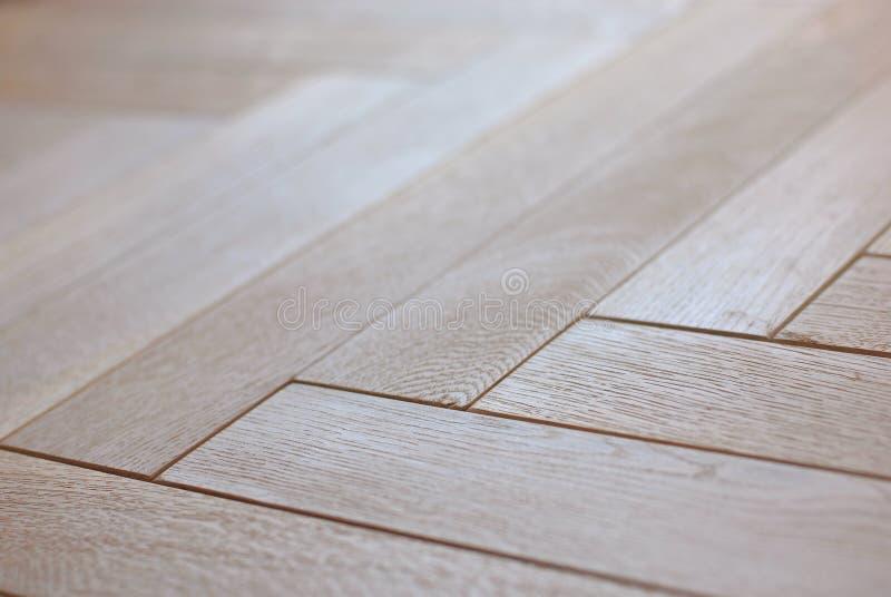 podłogowy parkietowy drewniany fotografia royalty free