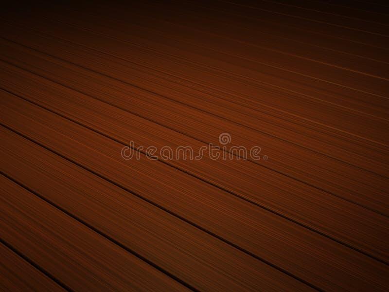 podłogowy tła drewno royalty ilustracja