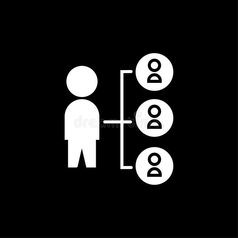 Pod??czeniowa ikona wektoru szyldowy symbol ilustracji