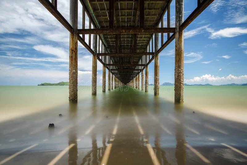 Pod molem, Tajlandia obraz stock