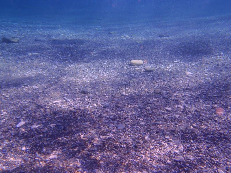 Pod morzem, jasny obrazy stock