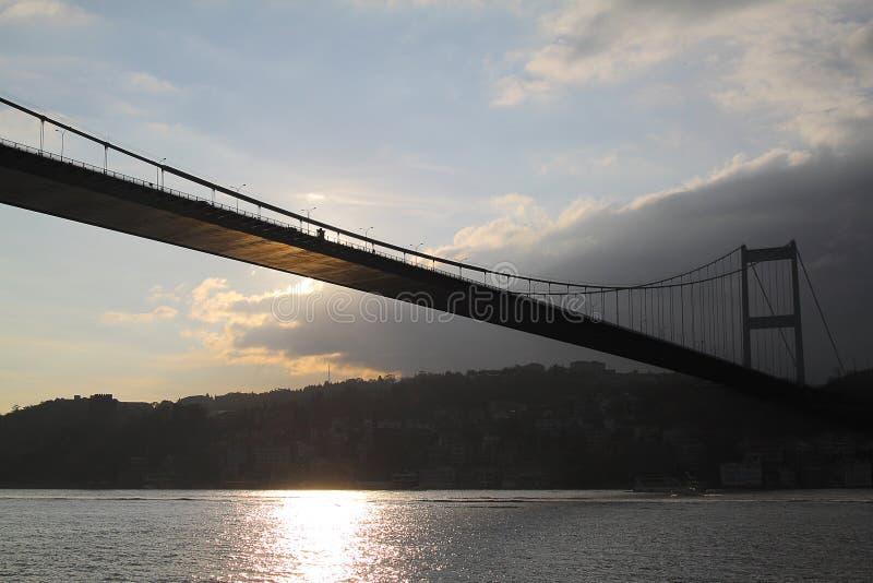 Pod mostem Bosporus zdjęcia stock