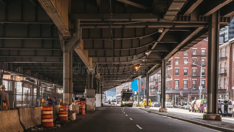 Pod mostem, FDR przejażdżka obraz stock