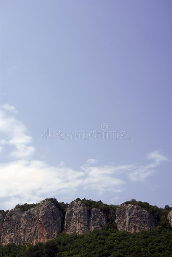 pod niezapomnianym widok hotelowa góra zdjęcia royalty free