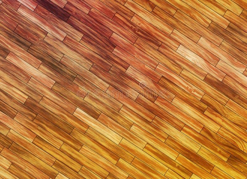 Pod?ogowego drewnianego panelu parkietowi t?a ilustracji