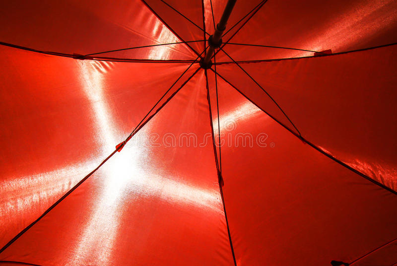 Pod parasolem zdjęcia stock