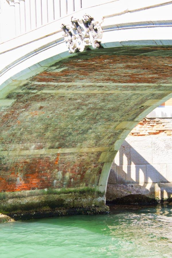 Pod Wenecja mostem zdjęcie stock