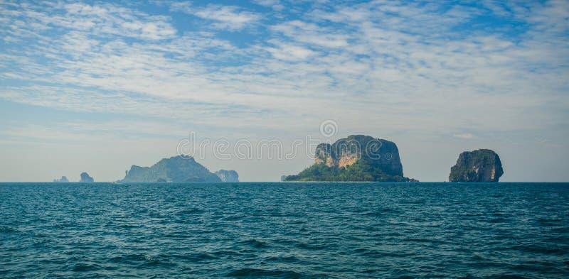 Poda ö och hönaö i Krabi Thailand arkivbild