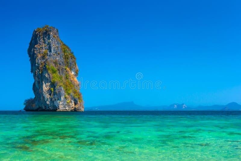 Poda Island. AO Nang. Photo taken in the province of Krabi, Thailand royalty free stock photography