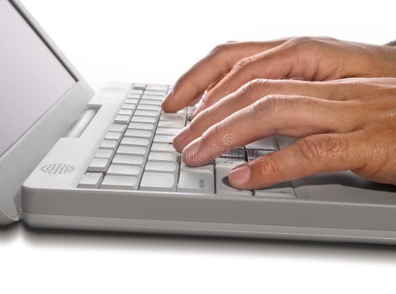 podaj laptop obraz royalty free