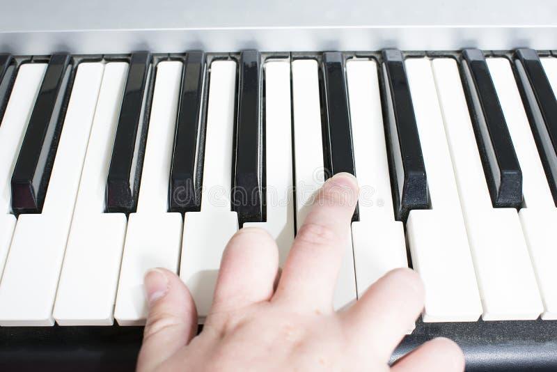 podaj pianino zdjęcie royalty free