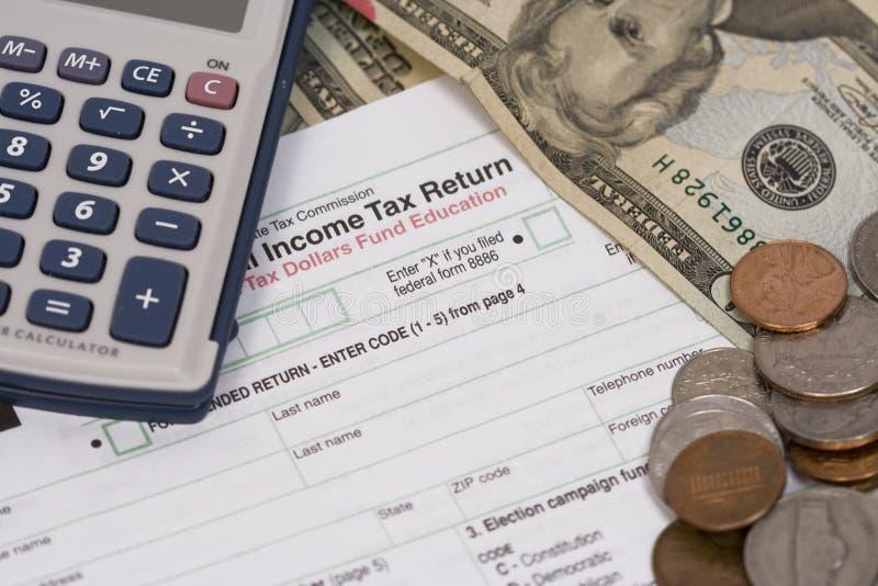 podatek dochodowy zdjęcia royalty free