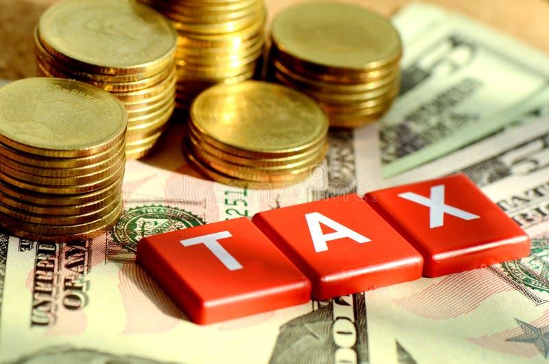 Podatków czasy. obraz stock