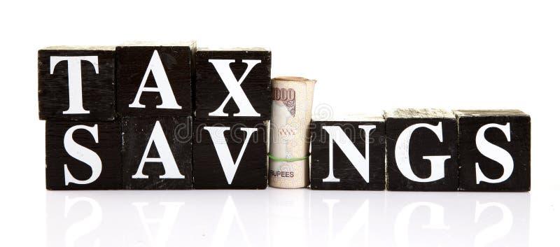 Podatków oszczędzania zdjęcia stock