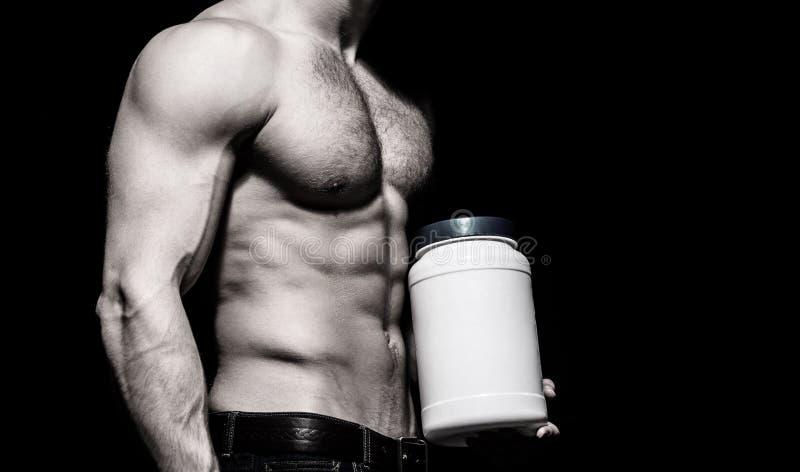 Podawa? doping, witamina, bodybuilder i bodybuilding, anabolic, proteinowej, steryd, sporta, Mi??nie silni, mi??niowy dietetyczka obrazy royalty free