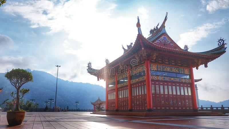 Podbródka swee chinswee świątynny genting Malaysia zdjęcie stock