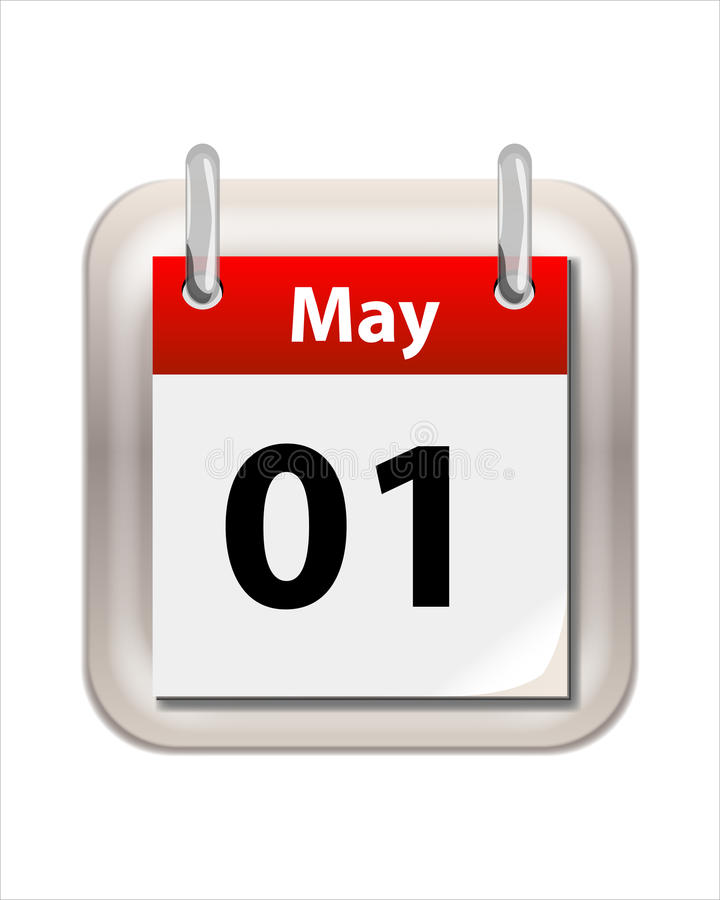 Pode calendar ilustração royalty free