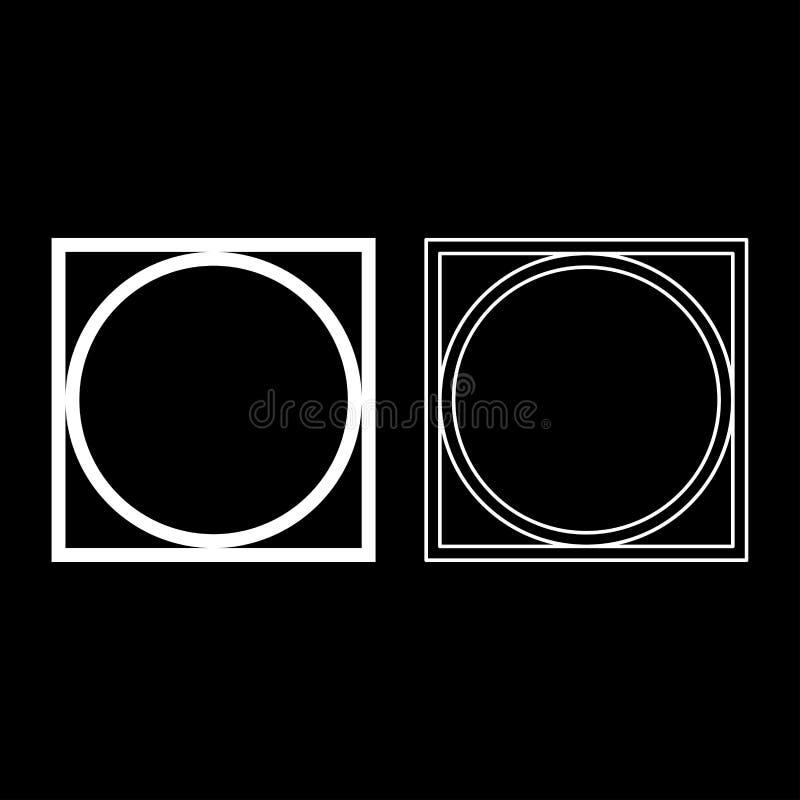 Pode girar espremeu seco na roupa da máquina de lavar importam-se símbolos o esboço do ícone que do sinal da lavanderia do concei ilustração royalty free