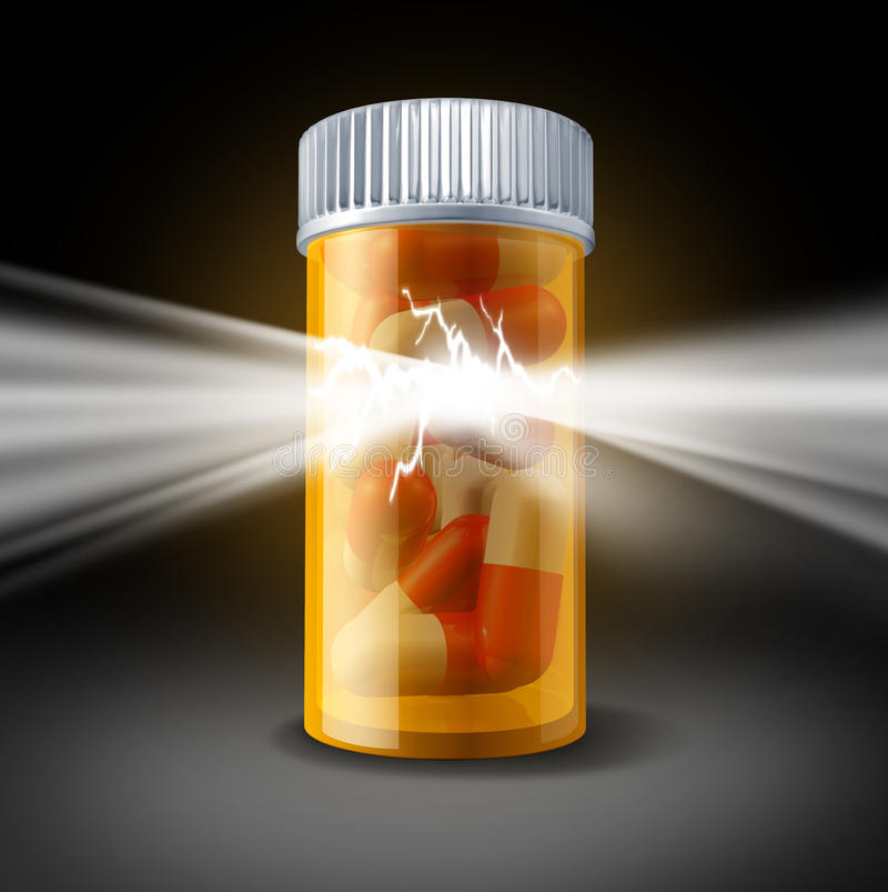 Poder da medicina ilustração do vetor
