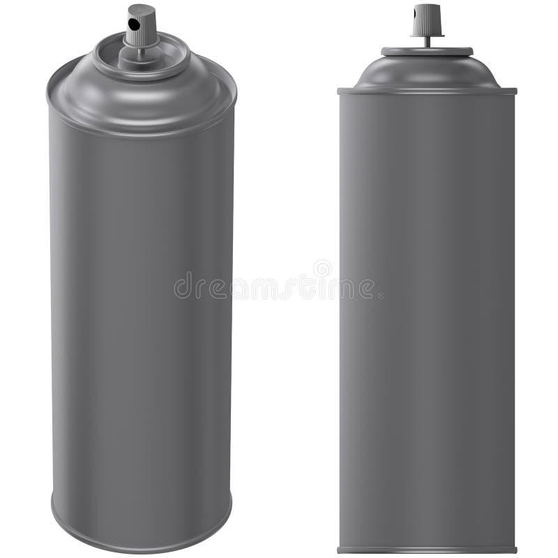 Poder de aerosol ilustración del vector
