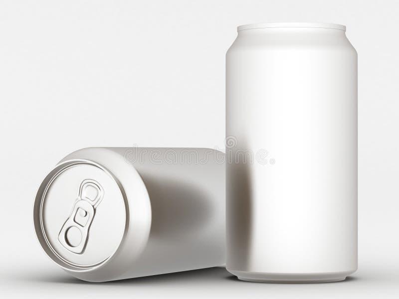 Poder de aluminio ilustración del vector