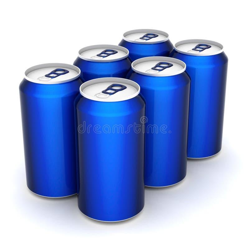 Poder de aluminio stock de ilustración