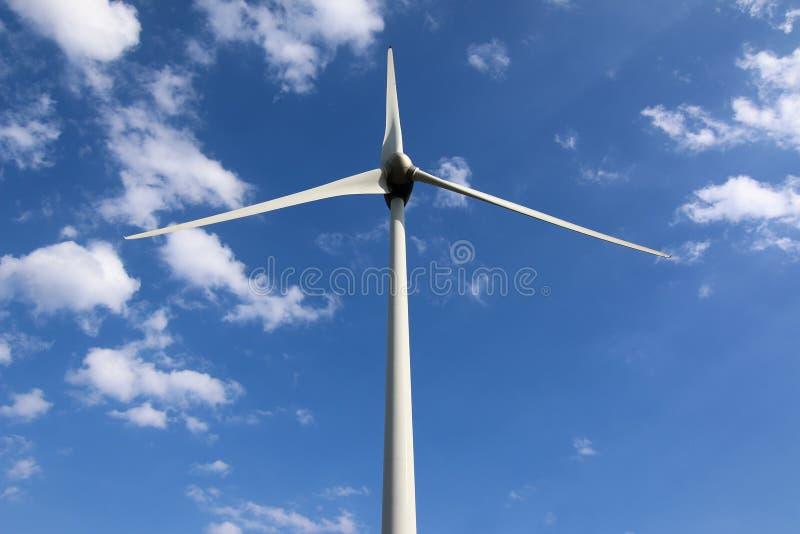 Poder de Eco, central eléctrica de energía eólica foto de archivo libre de regalías