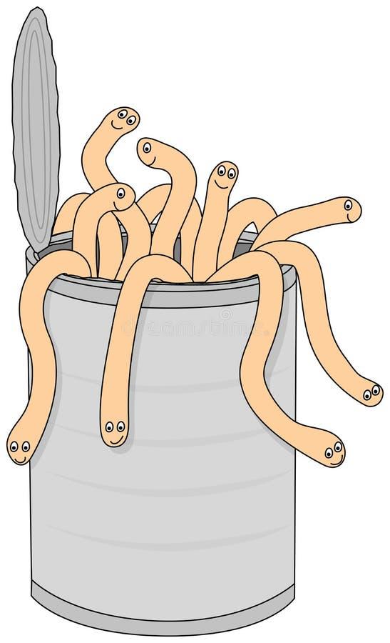 Poder de gusanos libre illustration