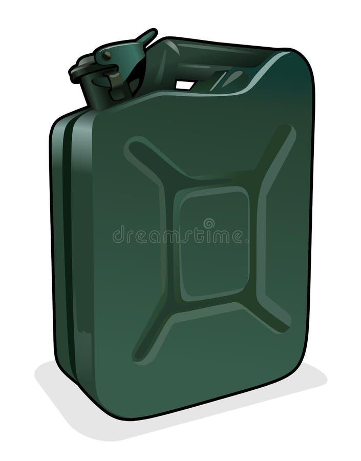 Poder de la gasolina ilustración del vector