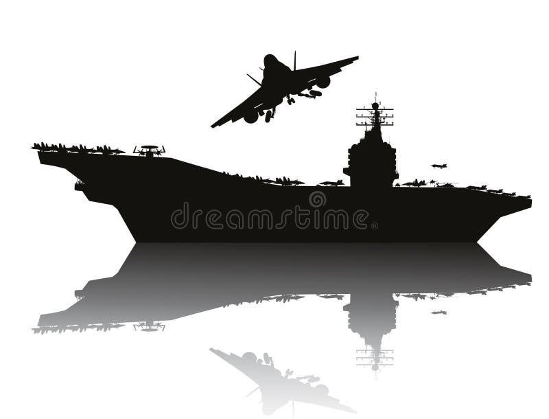 Poder de la marina de guerra libre illustration