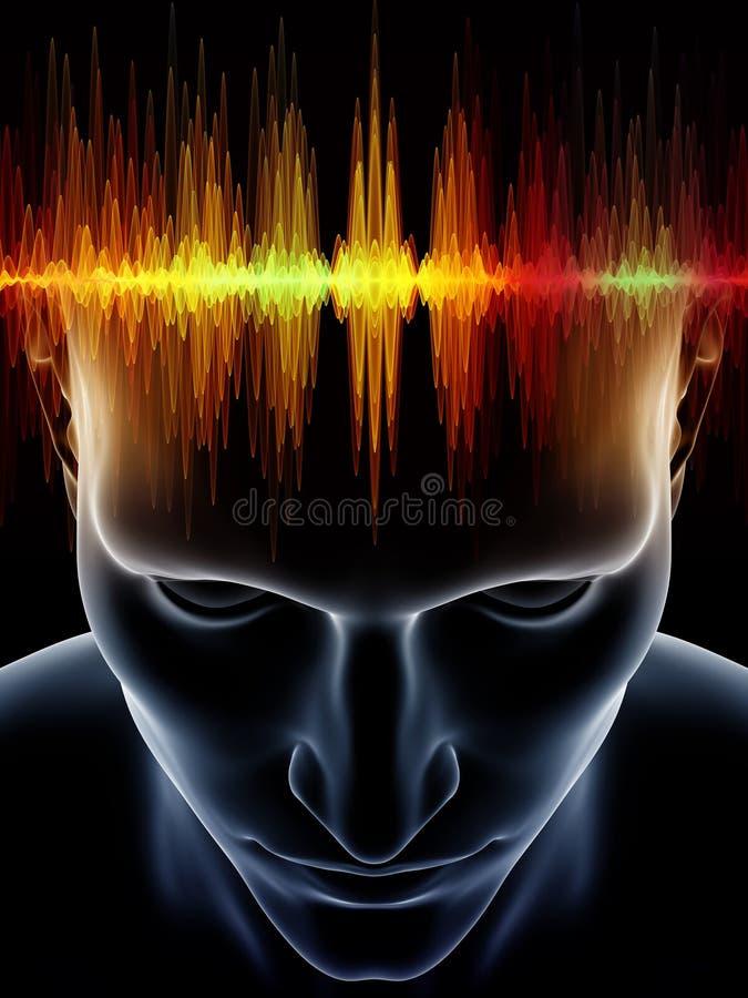 Poder de la mente humana libre illustration