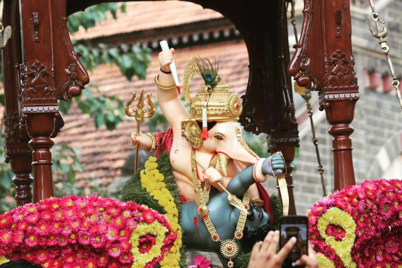 Poder de Lord Ganesha fotografia de stock