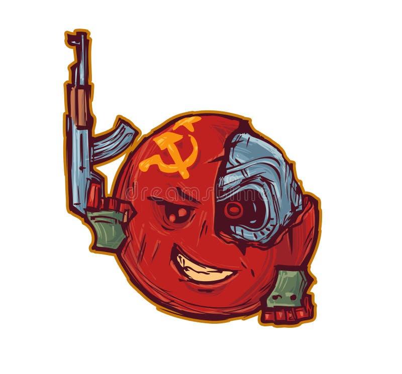 Poder de URSS ilustração do vetor