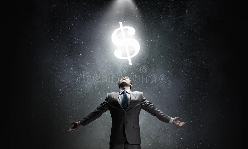 Poder del dinero imágenes de archivo libres de regalías
