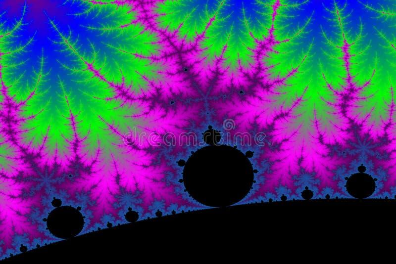 Poder del fractal foto de archivo libre de regalías