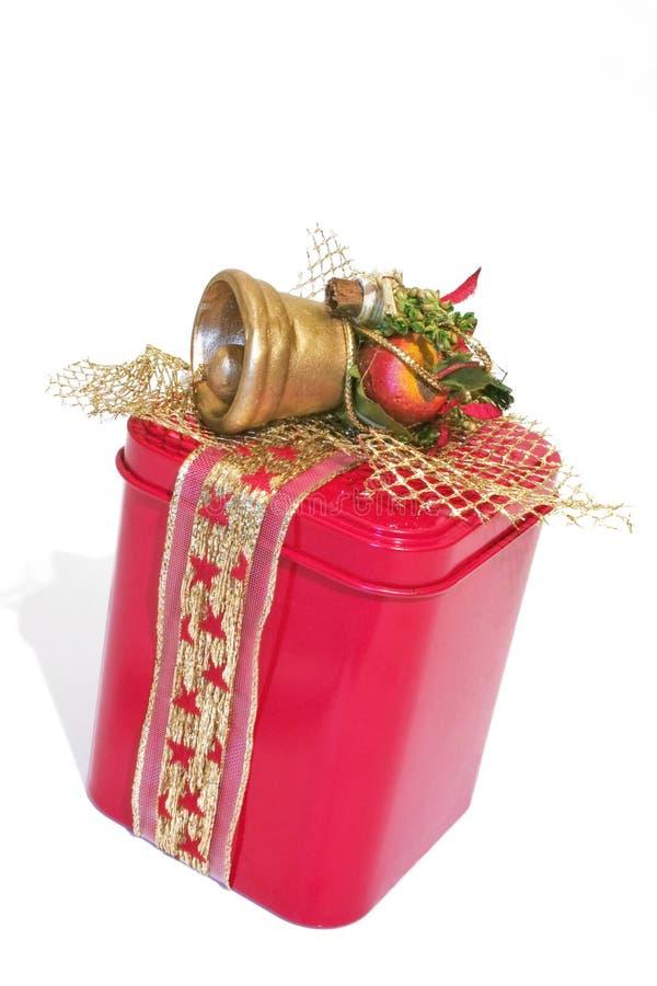 Poder del regalo de la Navidad imagen de archivo libre de regalías