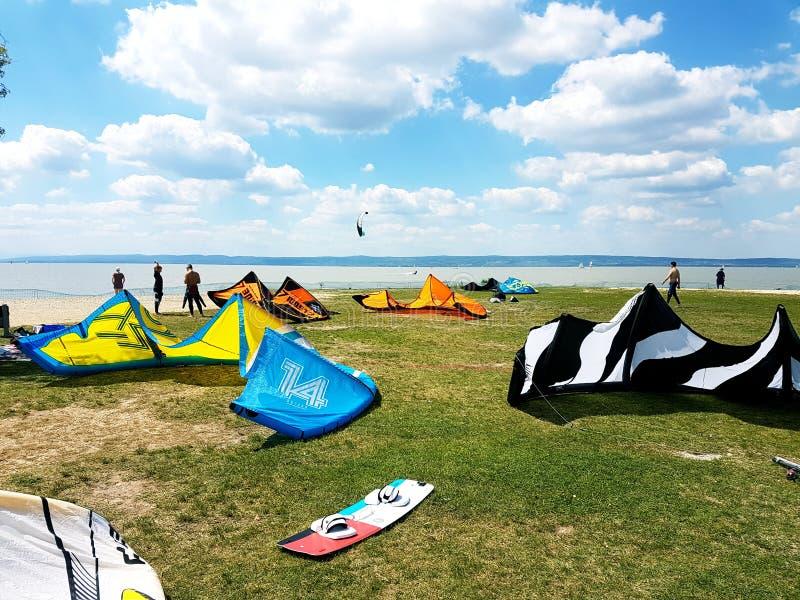 Podersdorf kani plaża obraz stock