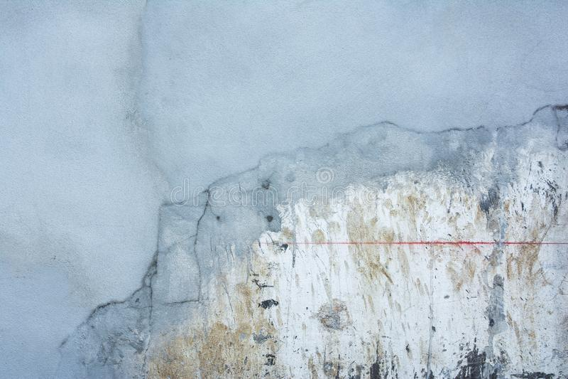 Podesłanie moździerz na betonowej ścianie dla odświeżania obraz royalty free