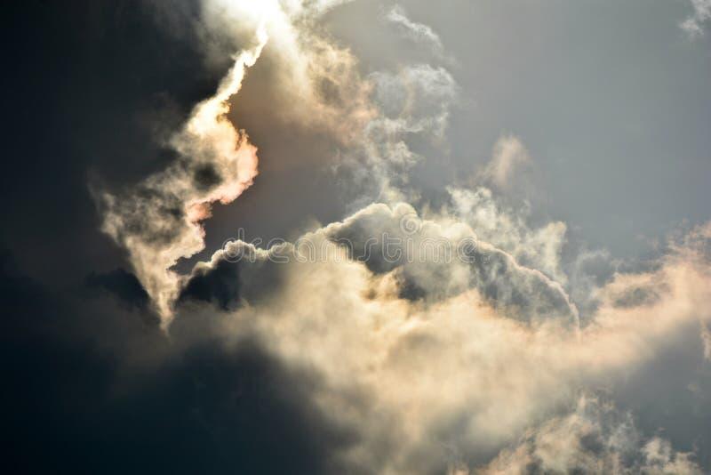 Podeszczowa chmura obraz stock