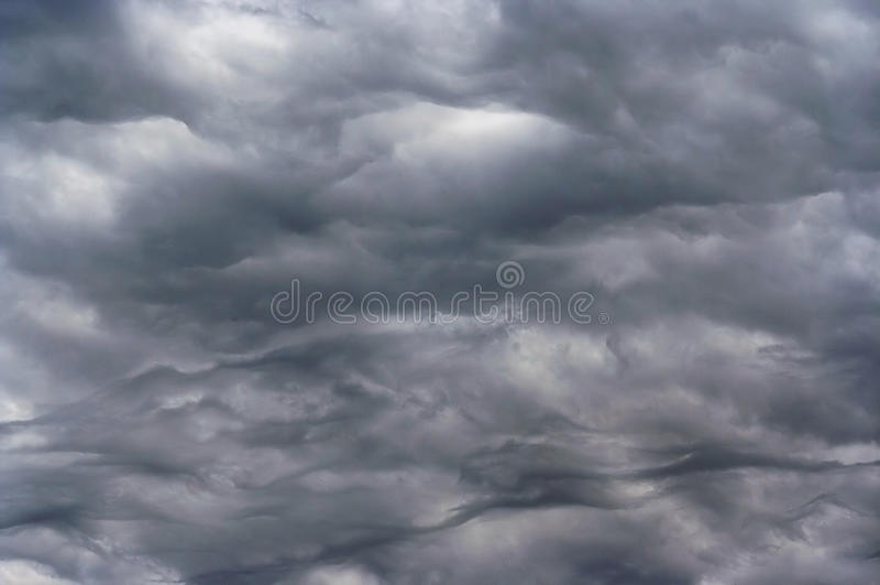 podeszczowy zmroku niebo fotografia royalty free