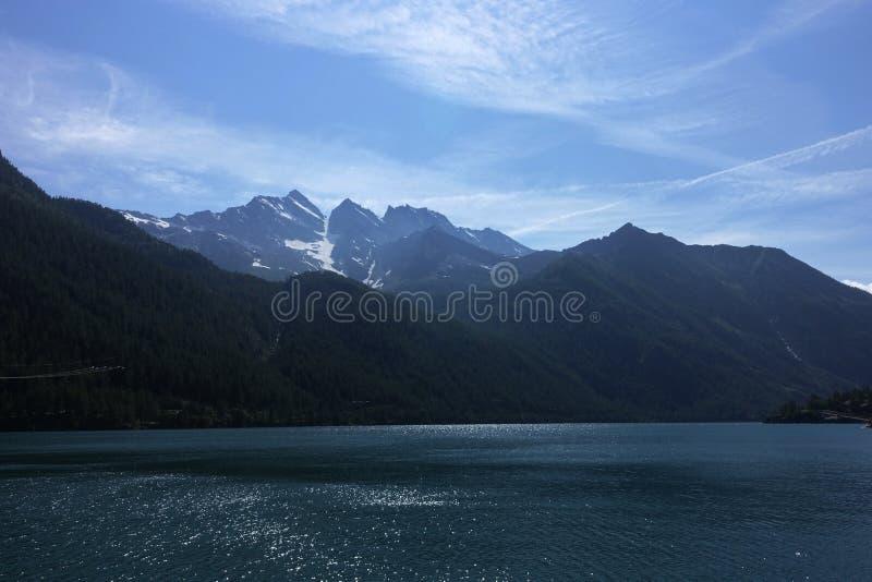 Podgórski Granu Paradiso park narodowy obraz royalty free